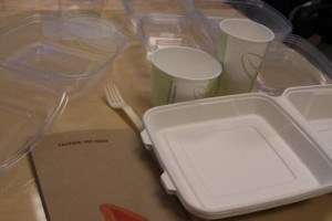 Sample of Bioplastics Products